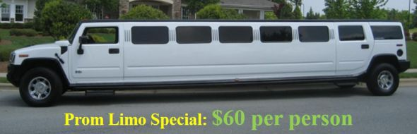 Prom limo special